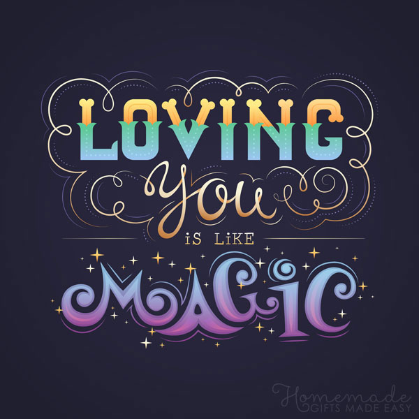 valentine day images loving you is like magic 600x900