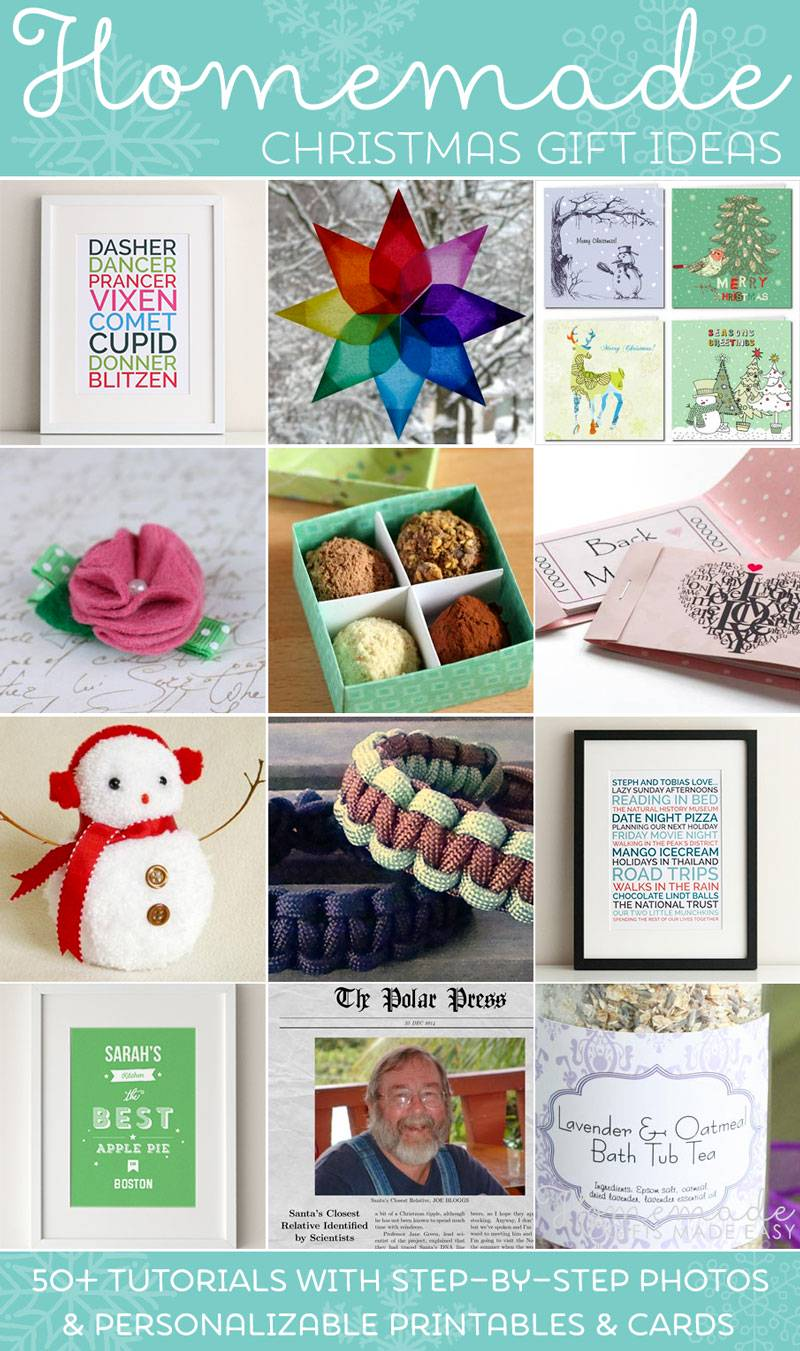 Homemade Christmas Gifts Ideas.Easy Homemade Christmas Gift Ideas Make Inexpensive