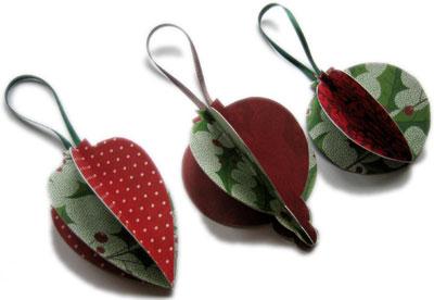 homemade christmas ornaments to make