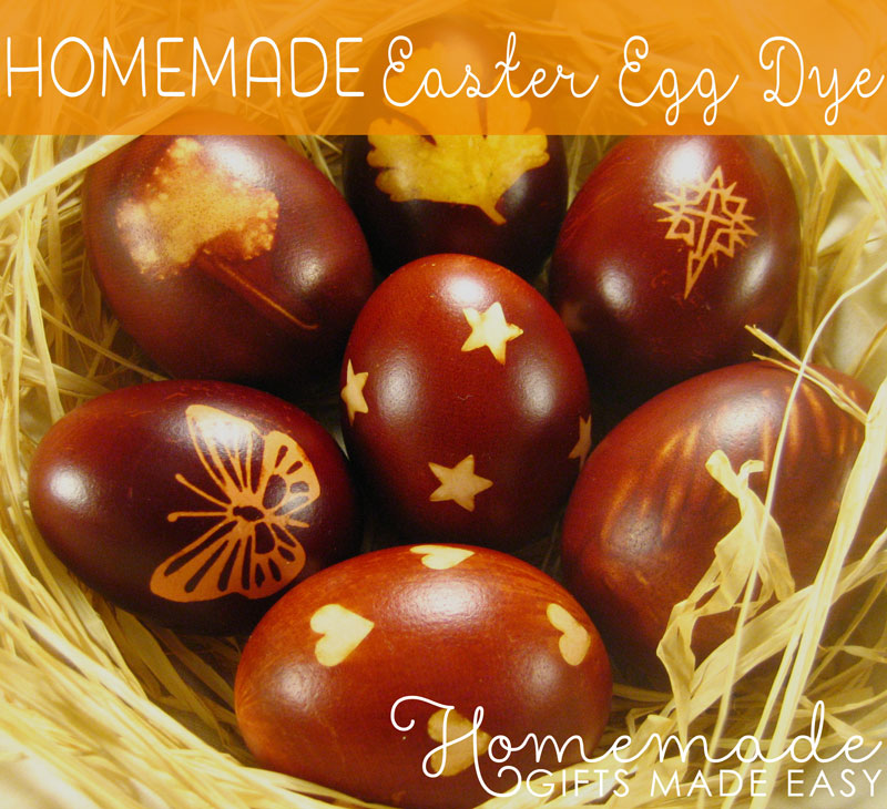 homemade easter gift ideas egg dye