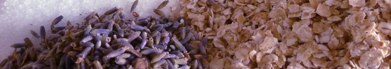 homemade oatmeal bath tea recipe header