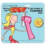 hot flash fan 30th birthday gag gift
