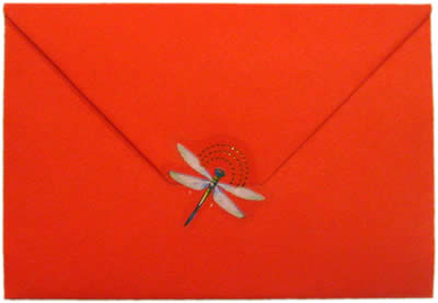 how to make an envelope finished back