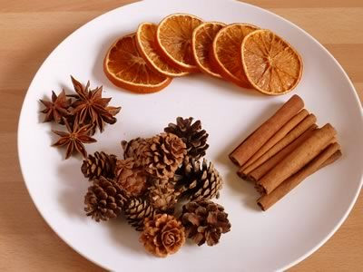 how to make potpourri - ingredients
