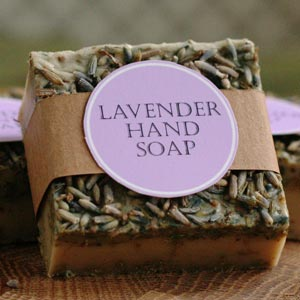 Easy homemade gift ideas lavender soap recipe negle Image collections