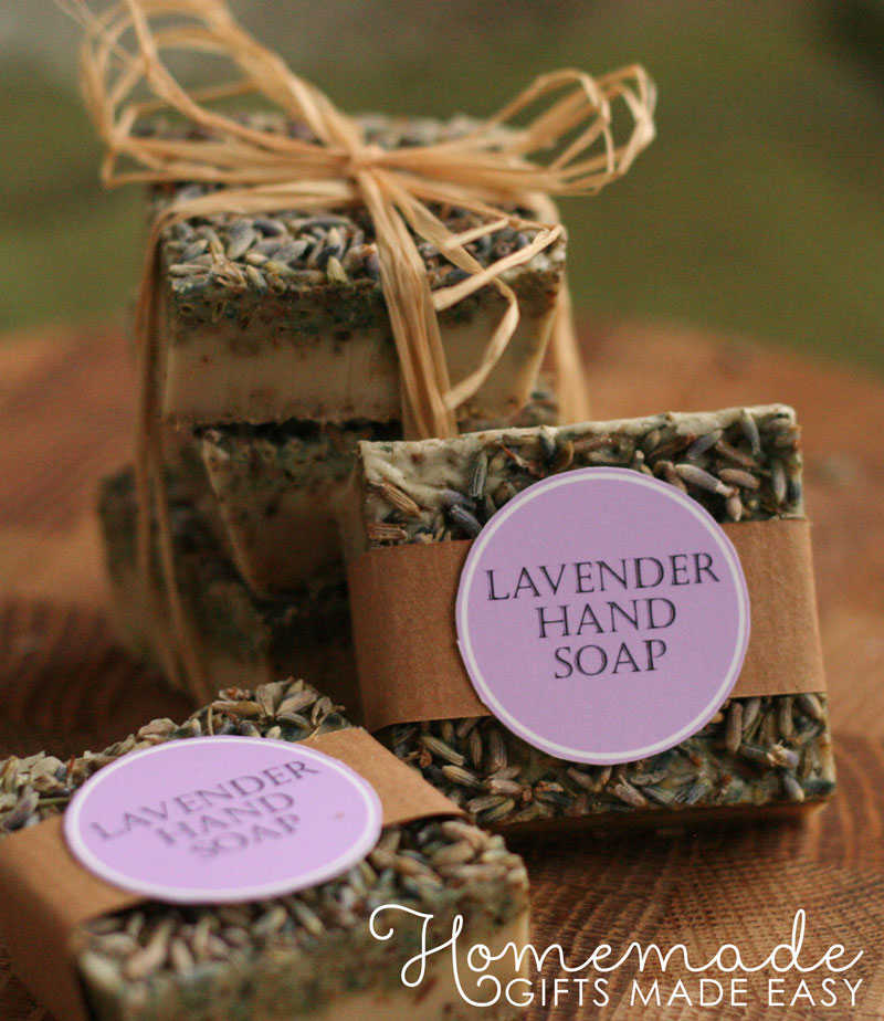 bath and body recipes lavender soap