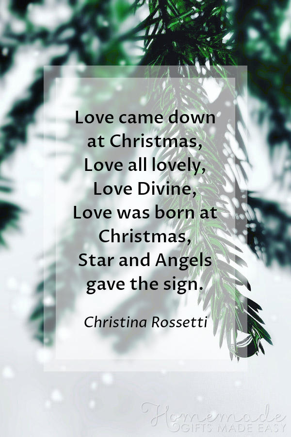 merry christmas images misc love came down rossetti