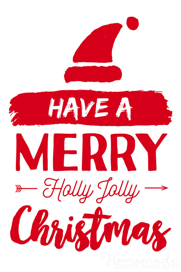 merry christmas images red holly jolly christmas 600x900