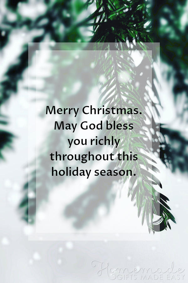 merry christmas images religious bless you richly 600x900
