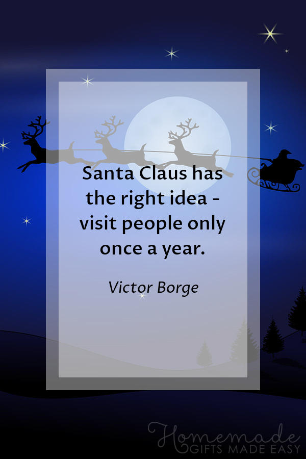 merry christmas images santa once a year 600x900