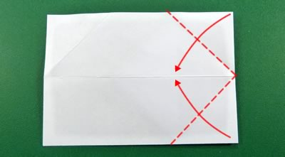 modular money origami star step 4b