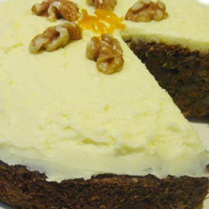 homemade food gifts carrot cake recipe