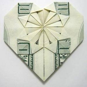 How to Make Flowers out of Dollar Bills - YouTube | 300x300