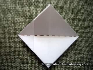 money origami heart