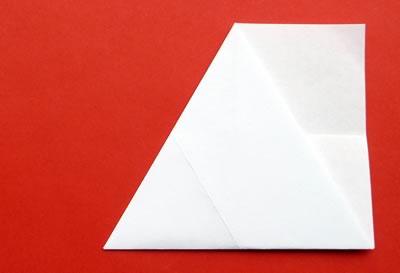 money origami star step 4b