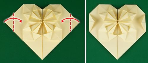 How to make an easy Origami heart box & Envelope paper/heart box ... | 214x500
