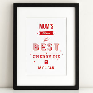 moms kitchen poster