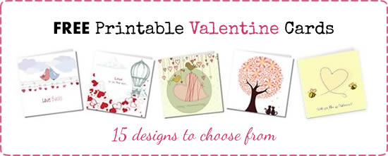 Homemade Valentine Gifts Ideas – Print a Valentines Card