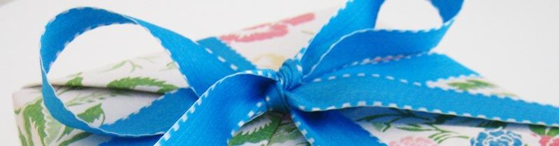 ribbon bow tying instructions