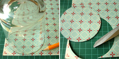 simple homemade christmas ornaments bauble step 1