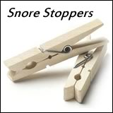 30th birthday gag gift snore stopper pegs