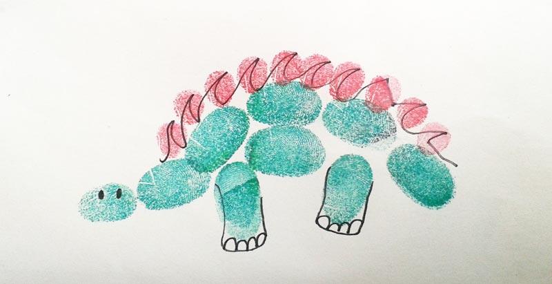 unique gift wrapping ideas fingerprints