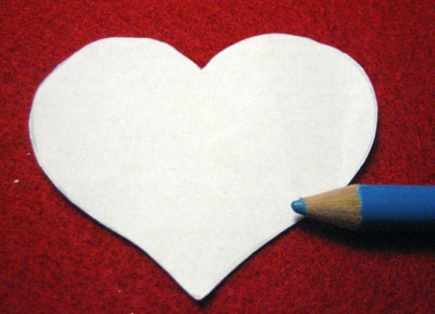 valentine craft projects felt heart brooch