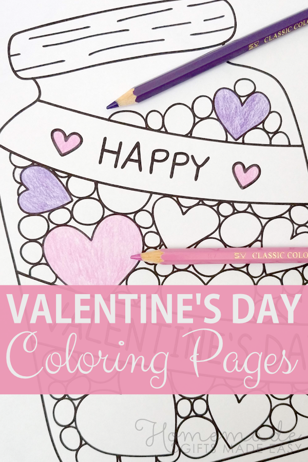 - 40+ Valentine's Day Coloring Pages PDF Printables