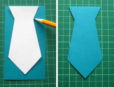 Scented Necktie Father's Day Card for Kids to Make - Happy Hooligans | 305x400