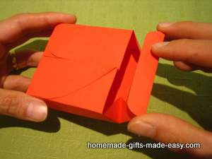 Free Heart Gift Box Template Assembly Step 4