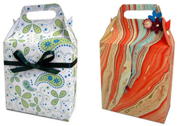 gift bag templates finished pic
