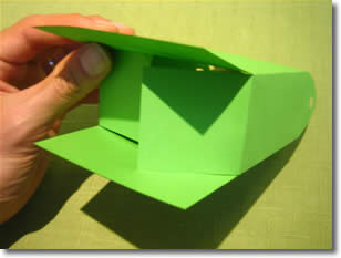 gift bag templates instructions step 3