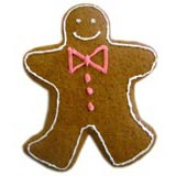 homemade food gifts Gingerbread Men cookies