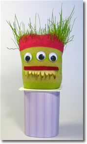 grass heads monster