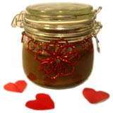 homemade gifts in a jar body scrubs