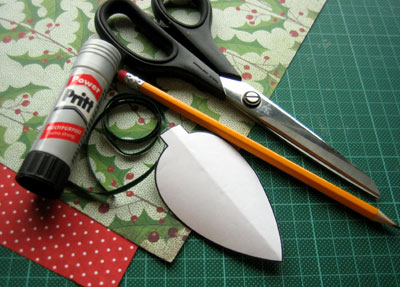 homemade christmas ornaments to make materials