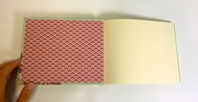 how to make a book - finished