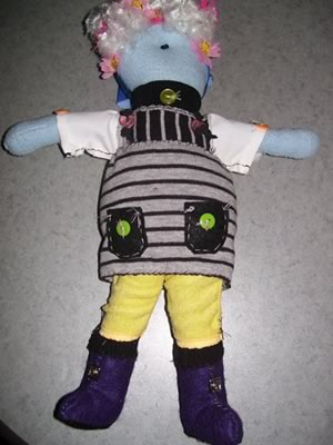 how to make cloth dolls - gardener