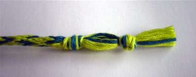 how to make friendship bracelets braiding step 6