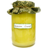 homemade gifts in a jar lemon curd