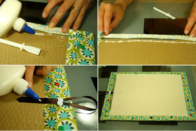 make a bulletin board