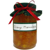 homemade food gifts orange marmalade recipe