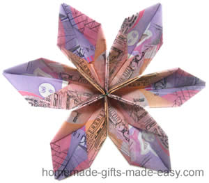 Origami Money Flowers The Instructions
