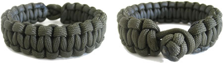 Paracord Bracelets Green
