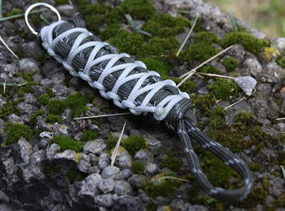 paracord lanyard 2 color