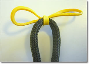 paracord lanyard mark center