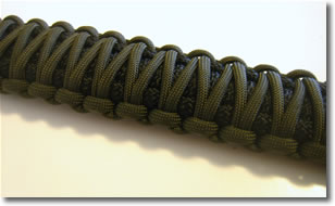 paracord lanyard two color