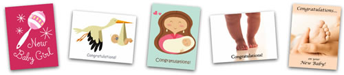 printable baby cards