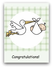 printable baby cards stork