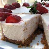 homemade food gifts ultimate strawberry cheesecake recipe